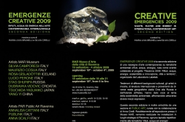 Emergenze creative 2009 - MAR, Ravenna