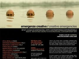 Emergenze creative 2008 - MAR, Ravenna